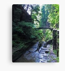 Ithaca is Gorges Canvas Print