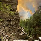 Sunset Gorge by Jessica Jenney