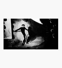 Scene from The Cabinet of Dr Caligari Photographic Print