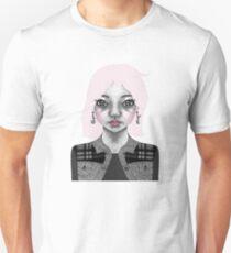 004 Long Pink Bob & L.O.V.E. Earrings Unisex T-Shirt