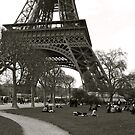 Eiffel Tower 6 by Dimple Dhabalia - Roots in the Clouds