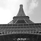 Eiffel Tower 8 by Dimple Dhabalia - Roots in the Clouds