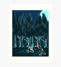 Stranger Things Art Print