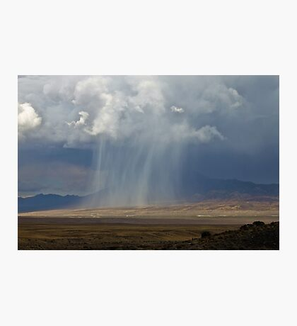 High Desert Shower Photographic Print