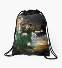 The Witching Hour Drawstring Bag
