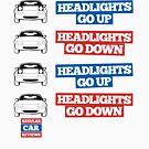 """Headlights Go Up/Down"" Miata MX-5 by RegularCars"