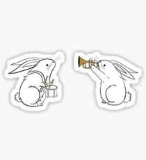 Toot and Diddle Bunnies Sticker