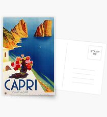 Vintage Capri Travel  Postcards