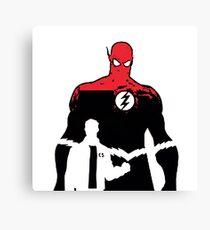 Flash2 x files Canvas Print