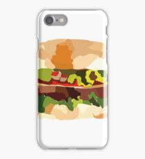 BD HAMBURGER iPhone Case/Skin