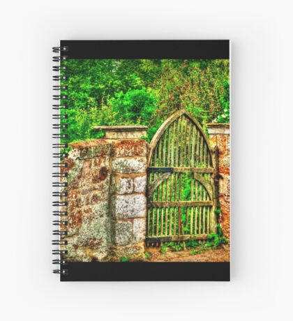 The Old Garden Gate (HDR) Spiral Notebook