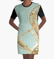 Tracks Graphic T-Shirt Dress