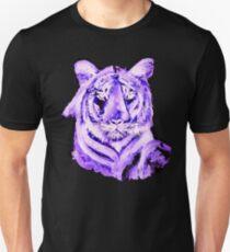 PURPLE TIGER LIGHT COLLECTION Unisex T-Shirt