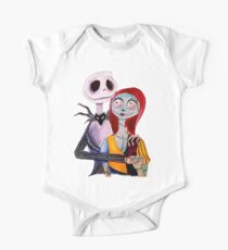Body de manga corta Jack y Sally