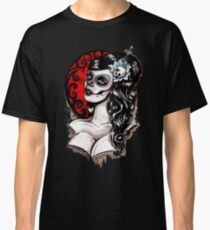 Day of the dead pinup tattoo Classic T-Shirt