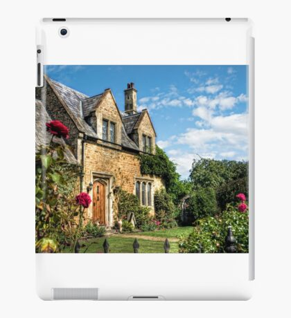 Country Cottage HDR art iPad Case/Skin