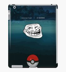 A wild Troll Appeared! iPad Case/Skin