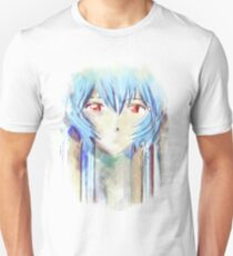 Ayanami Rei Evangelion Anime Tra Digital Painting  T-Shirt