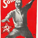 Old Communist Poster - Support Soviet Russia 1927 by Remo Kurka