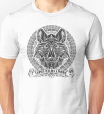 Legend of Zelda Twilight Princess Wolf Link Line Artly  Unisex T-Shirt