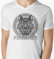 Legend of Zelda Twilight Princess Wolf Link Line Artly  T-Shirt