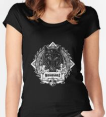 Pride of the Forest Wolf Mononoke Geek Line Artly Fitted Scoop T-Shirt