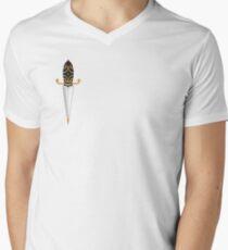 Old School Dagger Tattoo Men's V-Neck T-Shirt