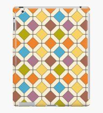 Gitter auf Gitter iPad-Hülle & Klebefolie