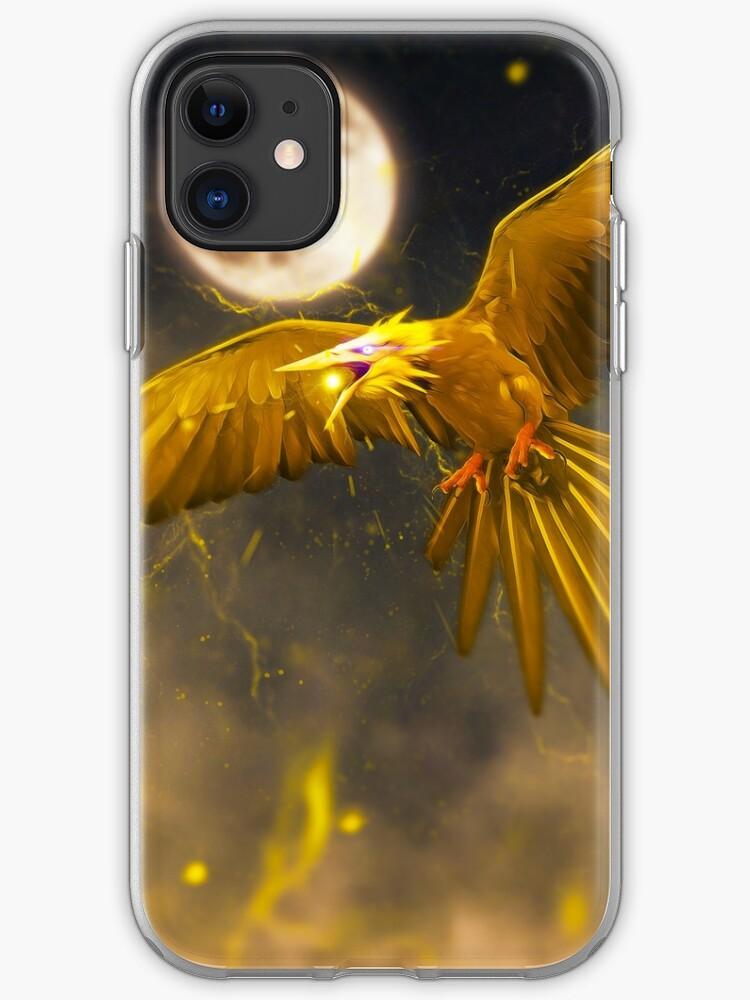 Zapdos iphone case
