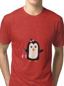 Penguin dancer   Tri-blend T-Shirt