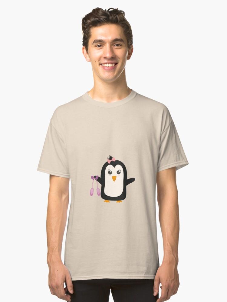 Penguin dancer   Classic T-Shirt Front