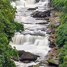 Whitewater at Cuyahoga Falls by Kenneth Keifer