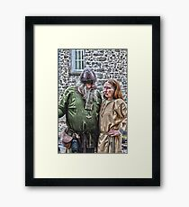 Irish celts  Framed Print