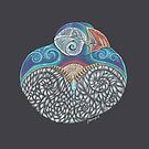 Puffin Totem by Jezhawk