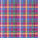 Love Retro Plaid by CroDesign