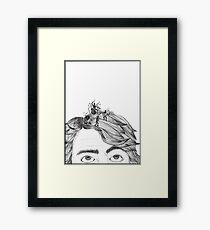 HeadBand Framed Print