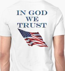PATRIOT, Official MOTTO, In God we trust, USA, US, American, America, Americana, T-Shirt