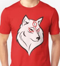 Okami head Unisex T-Shirt