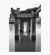 Southbank Pier Photographic Print