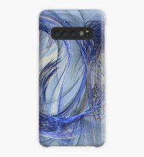 Cornflower Blue Case/Skin for Samsung Galaxy