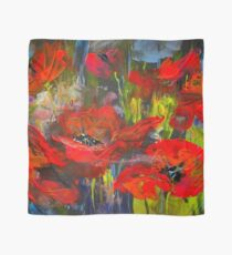Swinging Poppies Scarf