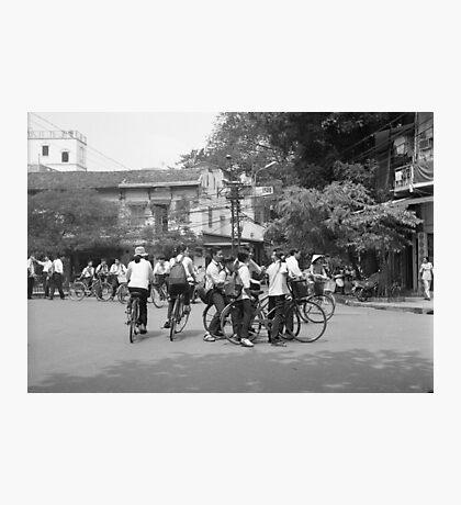 School's Out, Hanoi Photographic Print