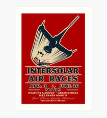 Intersolar Swordfish Print Art Print
