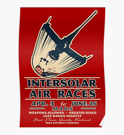 Intersolar Swordfish Print Poster