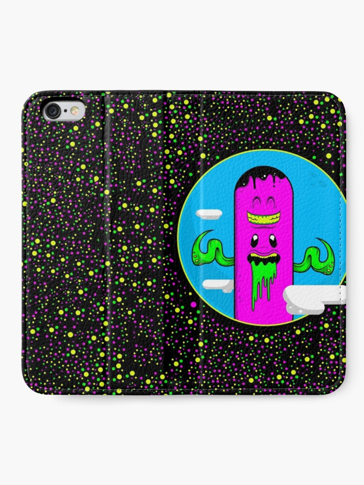 Alternate view of Man We're Such Good Friends iPhone Wallet