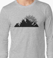 Mountain Mandala Long Sleeve T-Shirt