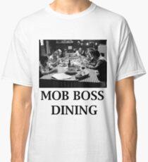 The Sopranos - Mob Boss Dining V1  Classic T-Shirt
