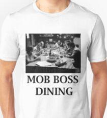 The Sopranos - Mob Boss Dining V1  Unisex T-Shirt