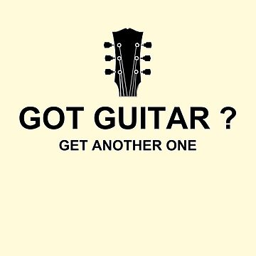 Got Guitar Black by Dardman