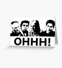 Tarjeta de felicitación Los Soprano - Ohhhh